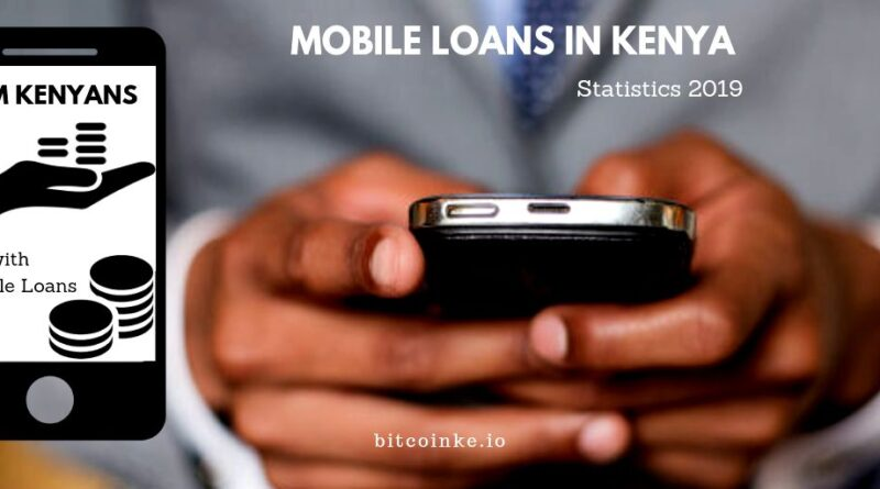 Mobile loans in Kenya.